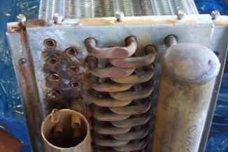 HVAC Exchanger Corrosion